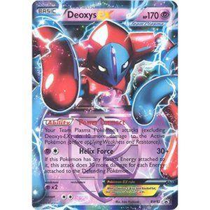 2013 Pokemon Card Promo Black Star Deoxys-EX Tin